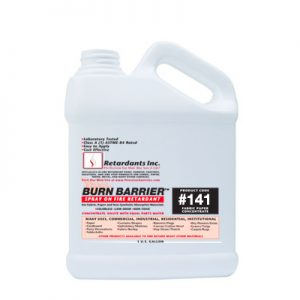 Burn barrier 141