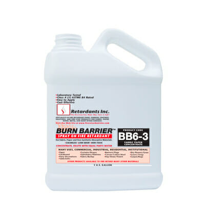 BURN BARRIER 6-3